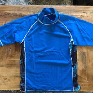 Boys Pipeline swim shirt UV protect. XL 14-16